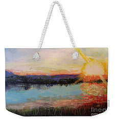 Sunset Weekender Tote Bag by Marlene Book