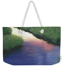 Sunset Marsh Series Weekender Tote Bag