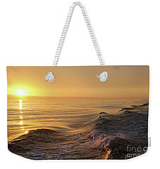 Sunset Meets Wake Weekender Tote Bag