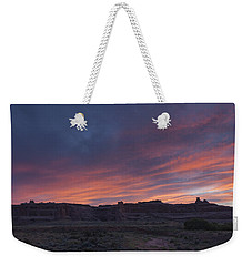 Sunset Near Court House Wash Weekender Tote Bag