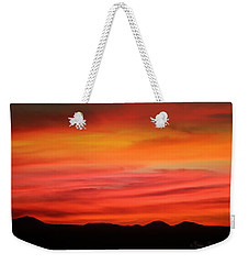 Sunset New Mexico Weekender Tote Bag