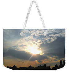 Sunset New York  Weekender Tote Bag