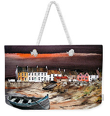 Sunset On Barna, Galway Weekender Tote Bag