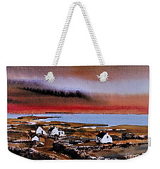 Sunset On Bungowla, Inishmor, Aran. Weekender Tote Bag
