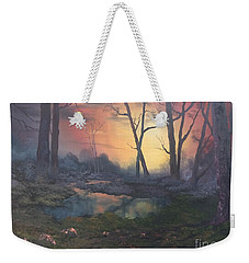 Sunset On Cannock Chase  Weekender Tote Bag