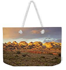 Sunset On Capitol Reef Weekender Tote Bag