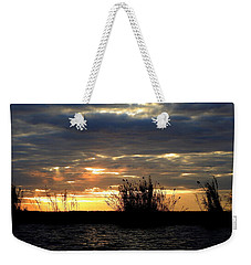 Weekender Tote Bag featuring the photograph Sunset On Chobe River by Betty-Anne McDonald