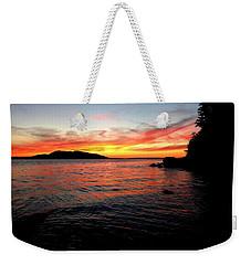 Sunset On Clayton Beach Weekender Tote Bag