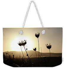 Sunset On Galilee Road Weekender Tote Bag by Yoel Koskas