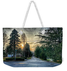 Sunset On Hilltop Drive Weekender Tote Bag
