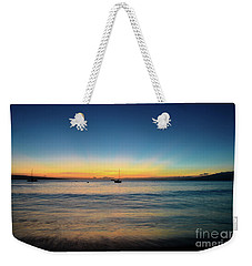 Weekender Tote Bag featuring the photograph Sunset On Ka'anapali Beach by Kelly Wade
