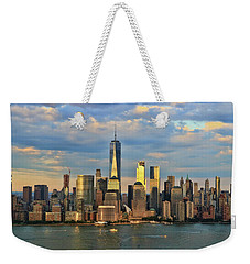 Sunset On Lower Manhattan Weekender Tote Bag