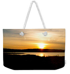 Sunset On Morrison Beach Weekender Tote Bag by Jason Lees