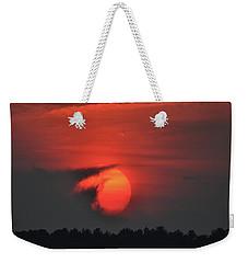 Sunset On Plum Island Weekender Tote Bag
