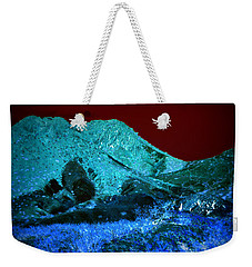 Sunset On Qo'nos Weekender Tote Bag by Nature Macabre Photography