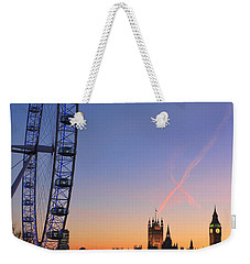Sunset On River Thames Weekender Tote Bag