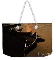 Sunset On Shell Lake Weekender Tote Bag