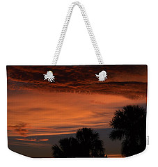 Sunset On The 4'th Weekender Tote Bag by Warren Thompson