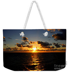 Sunset On The Atlantic Weekender Tote Bag