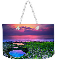 Sunset On The Beach In Bali Weekender Tote Bag