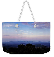 Sunset On The Blue Ridge Weekender Tote Bag
