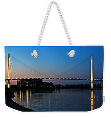 Sunset On The Bob Kerry Pedestrian Bridge Weekender Tote Bag