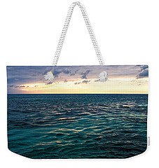 Sunset On The Caribbean Weekender Tote Bag