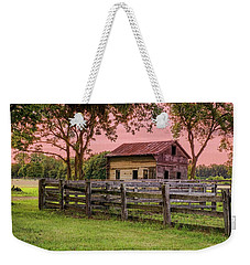Sunset On The Farm Weekender Tote Bag by Mary Timman