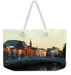 Sunset On The Ha'penny Weekender Tote Bag