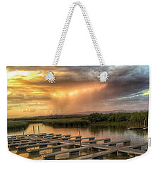 Sunset On The Marsh Weekender Tote Bag