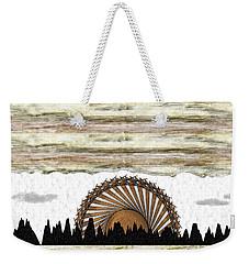 Sunset On The Mesa Weekender Tote Bag