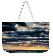 Weekender Tote Bag featuring the photograph Sunset On The Pacific by Hugh Smith