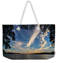 Sunset On The Pamlico Weekender Tote Bag