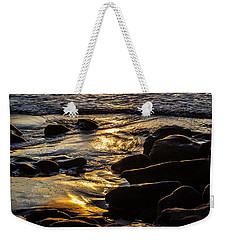 Sunset On The Rocks Weekender Tote Bag