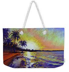 Sunset On The Sea Weekender Tote Bag