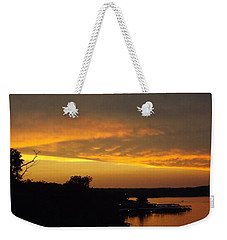 Sunset On The Shore  Weekender Tote Bag