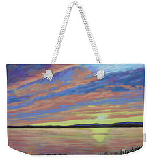 Sunset On The South Shore  Weekender Tote Bag