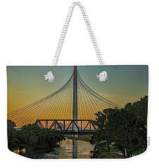 Sunset On The Trinity Weekender Tote Bag
