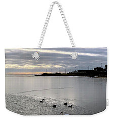 Sunset On The Water  Weekender Tote Bag