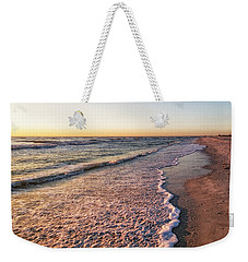 Weekender Tote Bag featuring the photograph Sunset On Tigertail by Lars Lentz