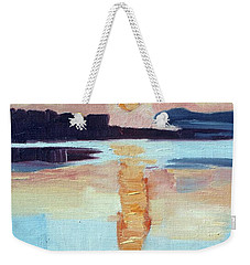 Sunset On Vancouver Island Weekender Tote Bag