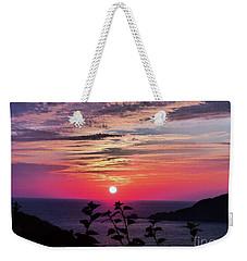 Sunset On Zihuatanejo Bay Weekender Tote Bag