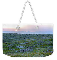 Sunset Over A 2000 Years Old Village Weekender Tote Bag
