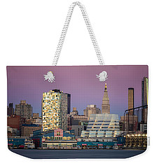 Sunset Over Chelsea Weekender Tote Bag by Eduard Moldoveanu