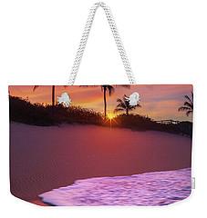 Sunset Over Coral Cove Park In Jupiter, Florida Weekender Tote Bag