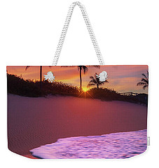 Weekender Tote Bag featuring the photograph Sunset Over Coral Cove Park In Jupiter, Florida by Justin Kelefas