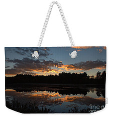 Sunset Over Cranberry Bogs Weekender Tote Bag