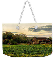 Sunset Over Dogwood Ridge Weekender Tote Bag