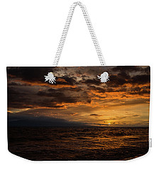 Sunset Over Hawaii Weekender Tote Bag by Chris McKenna