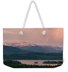 Sunset Over Lake Dillon Weekender Tote Bag